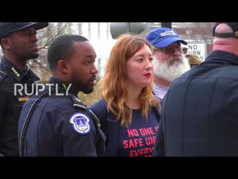 USA: Women's March founders arrested after storming Capitol Hill