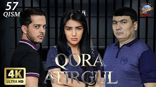 Qora atirgul (o'zbek serial) 57-qism | Кора атиргул (узбек сериал) 57-кисм