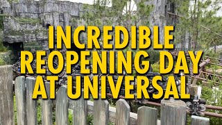 Incredible Reopening Day at Universal Studios Florida & Islands of Adventure
