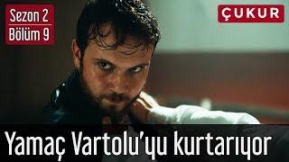 Çukur 2.Sezon 9.Bölüm - Yamaç Vartolu'yu Dayak Yemekten Kurtarıyor
