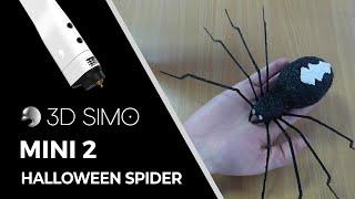 3dsimo (3Dpen) How to make a spier for Halloween