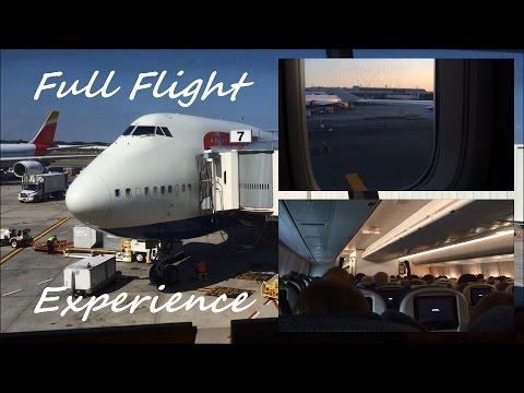 FLIGHT-REPORT | New York City (JFK) to London (LHR) | British Airways 747 | Economy