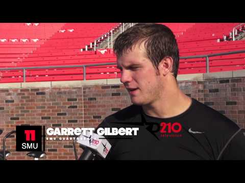 SMU QB GARRETT GILBERT NOT LOOKING PAST MONTANA STATE