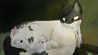 [Коты~Воители]Белогривка и Остролап.Сломана.