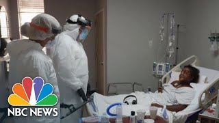 Houston Hospital Reports High Number Of Black, Hispanic Patients As Cases Surge | NBC News NOW