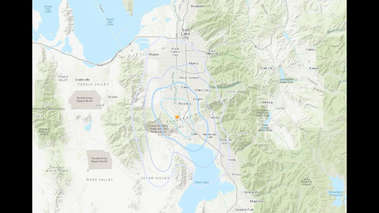 An Earthquake Just Woke People Up In Utah. Here's What You Need To Know.