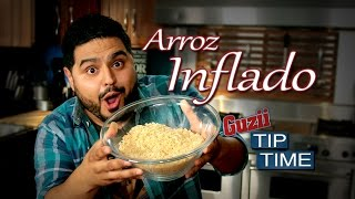 Arróz Inflado - #TipTime - El Guzii