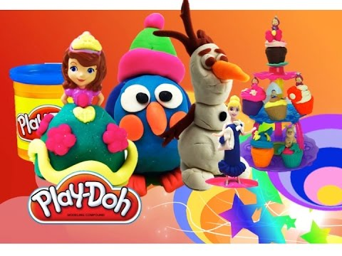 Пластилин Плей до самые лучшие наборы в одном Play doh видео! The best play-doh video!