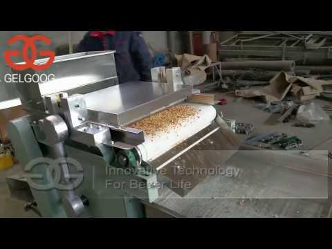 Macadamia Nut Chopping Cutting Machine From Cara@machinehall.com