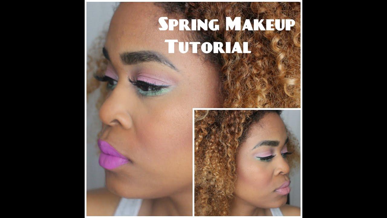 Spring Makeup Tutorial Still Glamorus Morphe Cosmetics