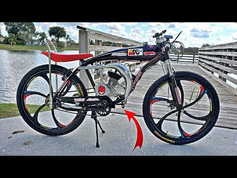 cdhpower-80cc-motorized-bicycle---my-2019-ultimate-build---part-2!