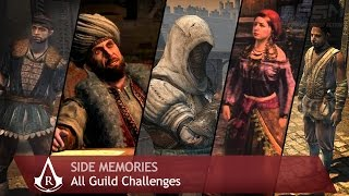 Assassin's Creed: Revelations - Side Memories - All Guild Challenges