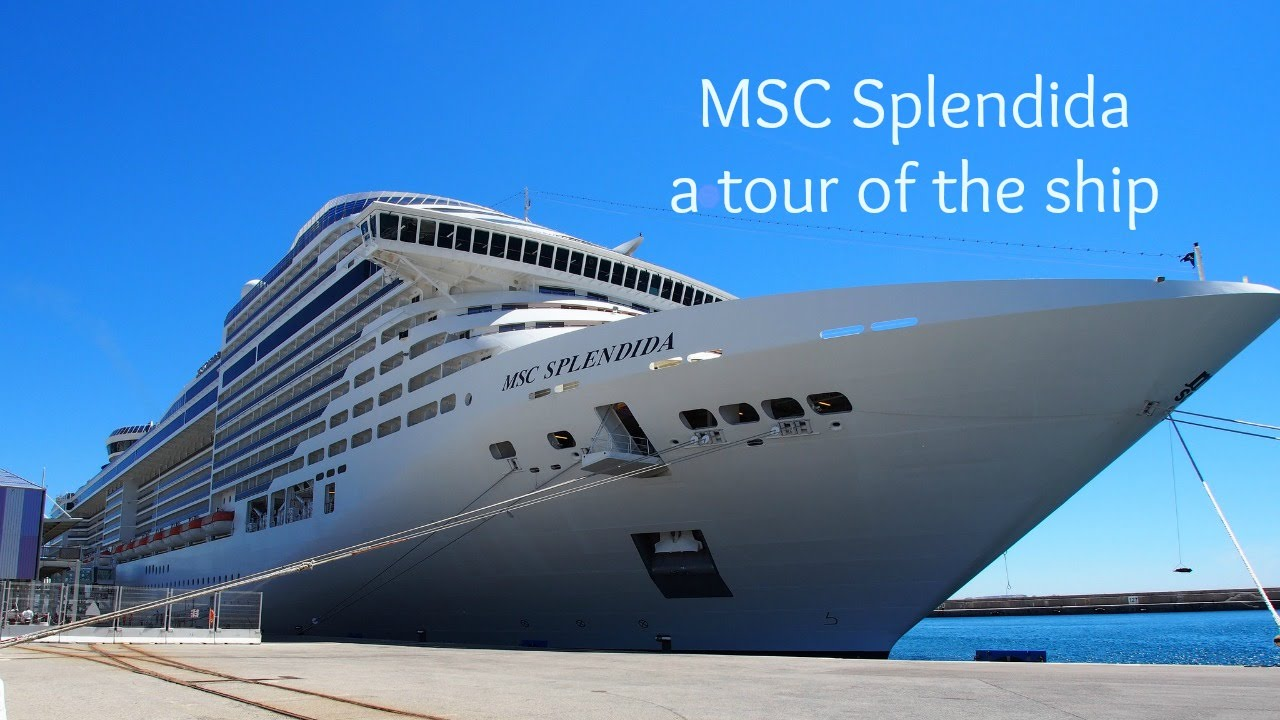 A tour of MSC Splendida - with MSC Cruises - YouTube