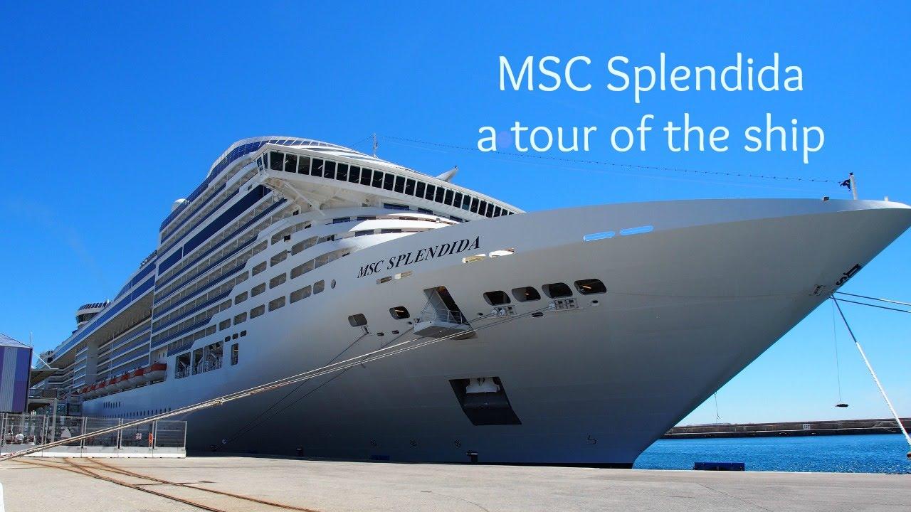 A tour of MSC Splendida - with MSC Cruises - YouTube