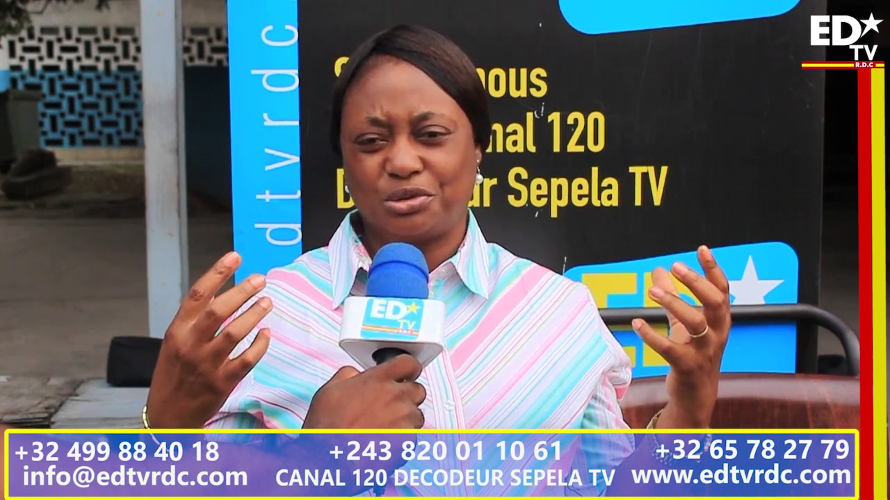 ENTRETIEN EDTV: POURQUOI Mme MUJANYI KASONGA THÉRÈSE A QUITTÉ OLENGHA NKOYI ?