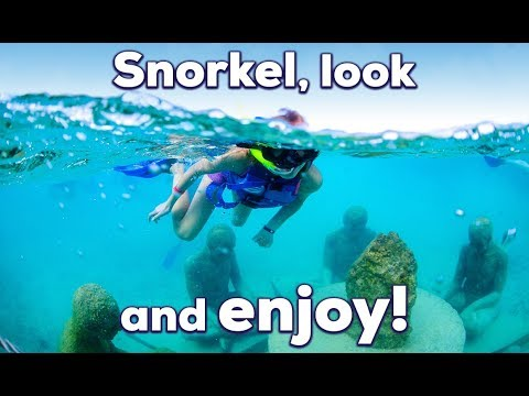 MUSA Underwater Museum Snorkeling Tour - Video