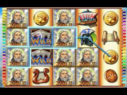 Treasure Island CASINO Las Vegas Nevada Huge massive MAX BET jackpot ZEUS II $.25 Cent Slot Machine