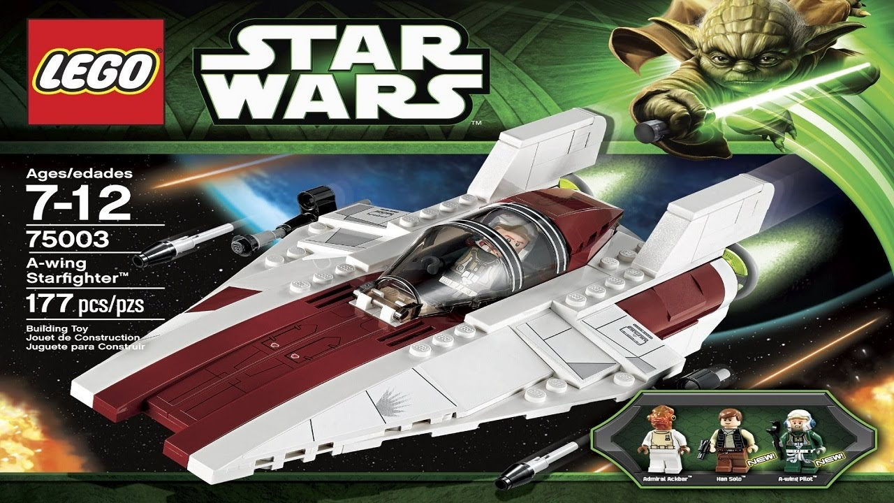 Lego Star Wars Instructions For 75003 A Wing Starfighter Youtube