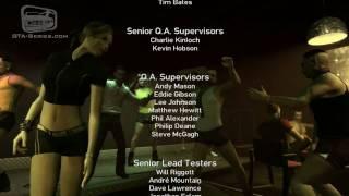 GTA: The Ballad of Gay Tony - End Credits