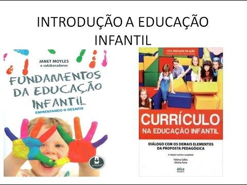 INTRODUÇÃO A EDUCAÇÃO INFANTIL