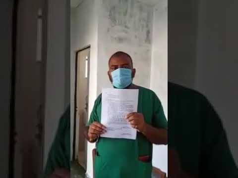 एमआईसी डाॅक्टर महेश प्रताप सिंह का एक और वीडियो वायरल