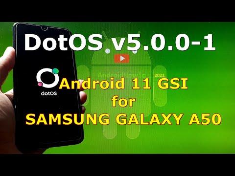DotOS v5.0.0-1 Android 11 for Samsung Galaxy A50 - Custom ROM