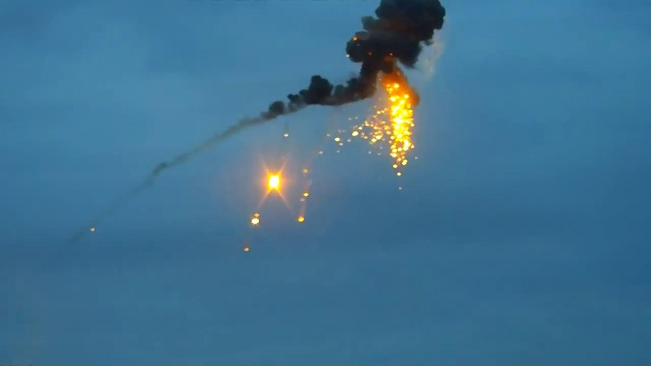 Удар по азербайджанскому беспилотнику