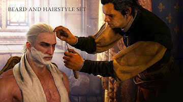 The Witcher 3 How to Change Hairstyles and Beards