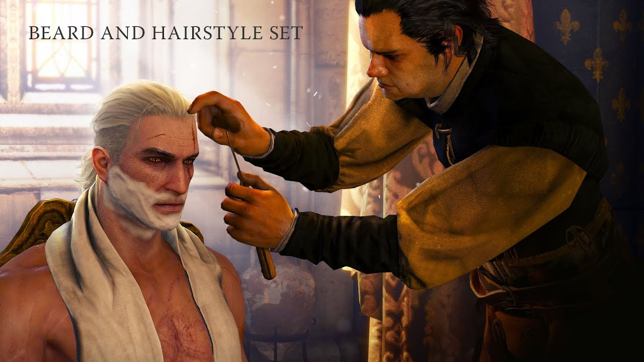 Witcher 3 Hair Styles