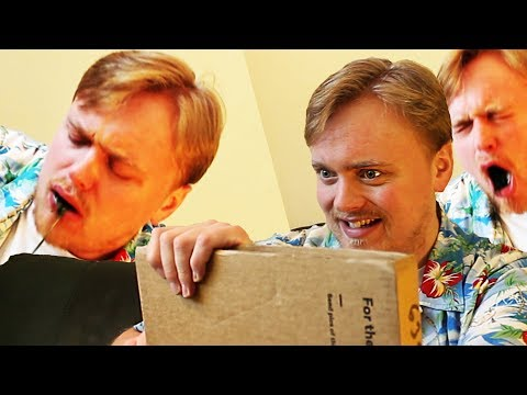 Gus Opens More Suspicious Packages