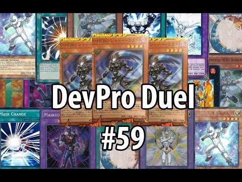 Yu-Gi-Oh! DevPro Duel #59 - Elemental HERO Shadow Mist - Masked Shadow Heroes