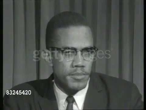 Malcolm X on Senator Barry Goldwater