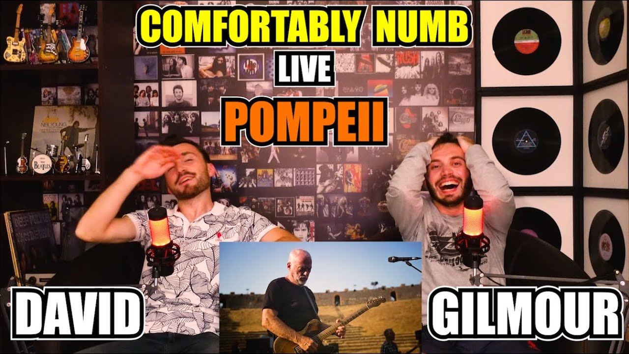 FIRST TIME Reaction To DAVID GILMOUR - COMFORTABLY NUMB (Live At POMPEII)