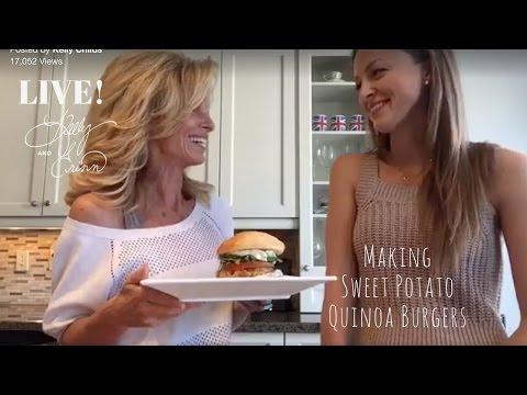 How to Make Sweet Potato Quinoa Burgers