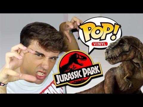 Consigo TODOS los FUNKO POP de JURASSIC PARK!! | Unboxing