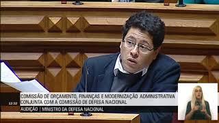 PCP questiona Ministro da Defesa sobre OE 2018