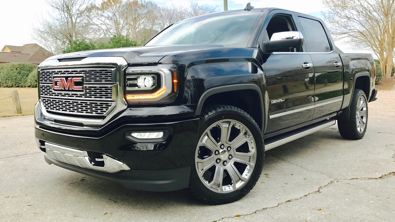 New 2017 Gmc Sierra Denali 1500 Ultimate Full Review Start Up Exhaust You