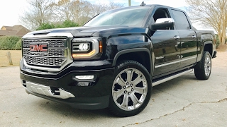 new 2017 gmc sierra denali 1500 ultimate full review  start up  exhaust