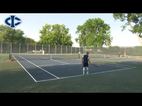 Tennis: Iowa Central vs Buena Vista (9/14/2017)