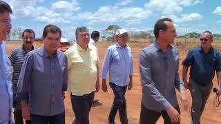 Complexo da Brisanet - José Roberto diretor presidente em recepção a Maia Júnior e Mauro Filho