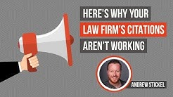 Attorney Local SEO Tip: Here's Why Your Law Firm's Citations Aren't Working | Law Firm Marketing
