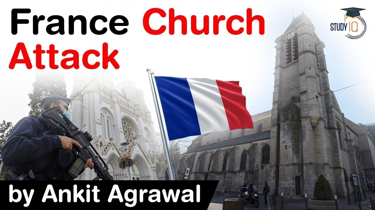 Terror attack at French church - Woman beheaded and 2 other stabbed to death in Nice, France #UPSC