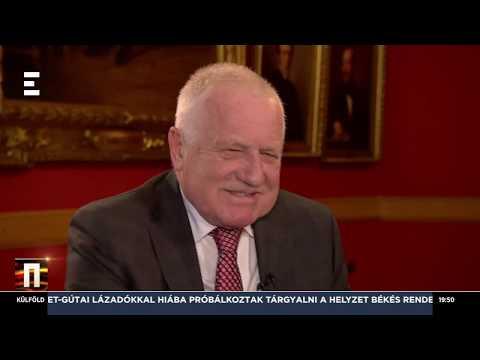 A tömeges migrációt meg kell állítani - Václav Klaus - ECHO TV