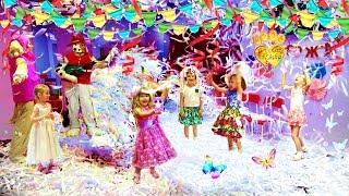 ДЕНЬ РОЖДЕНИЯ Алисе 5 лет:))) ЩЕНЯЧИЙ ПАТРУЛЬ: Маршал, Скай и БУМАЖНОЕ ШОУ!!!