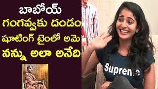 Mallesham Movie Heroine Ananya On My Village Show Gangavva   Ananya Interview   Film Jalsa