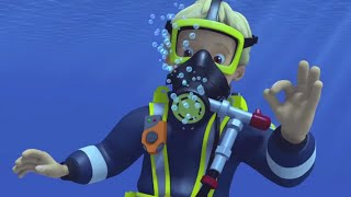 Fireman Sam US 🌟PENNY GOES SEA DIVING! 🔥New Episodes 🔥Fireman's Sea Rescues 🌟Kids Cartoons