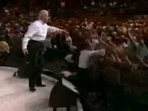 "Benny Hinn sings ""HOLY HOLY HOLY"" (Holy Are You Lord)"