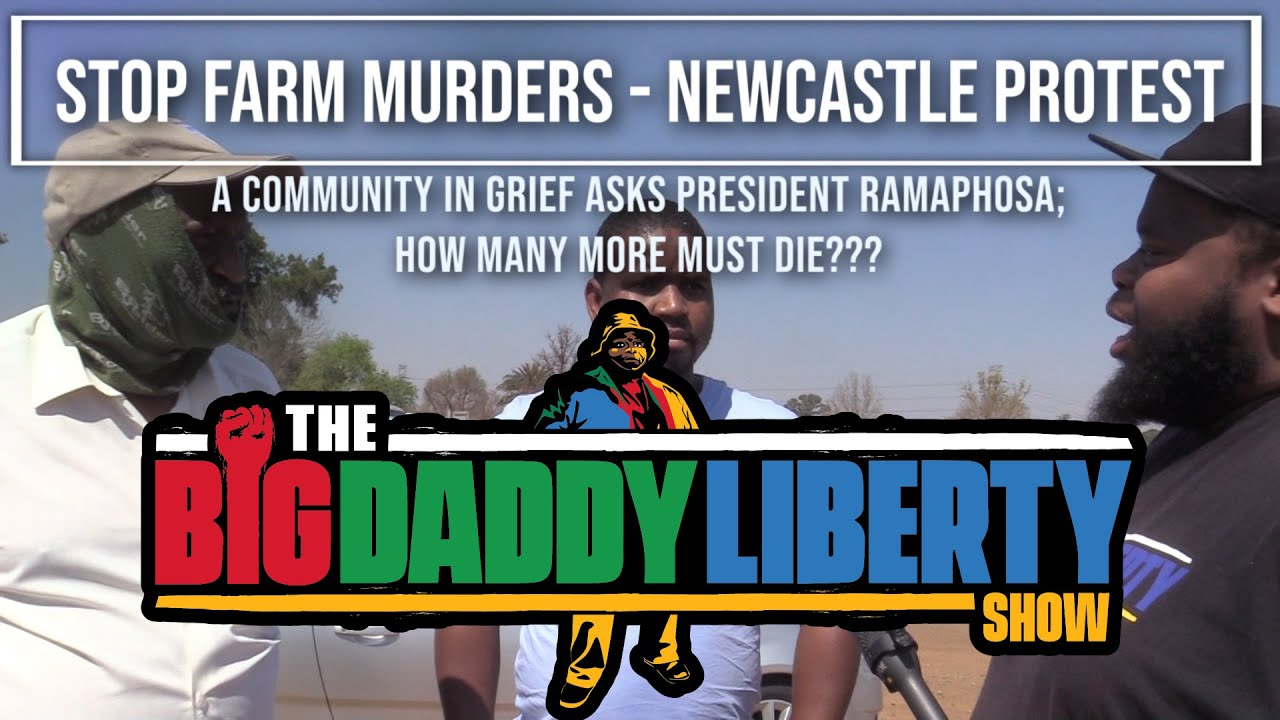 Stop Farm Murders - Newcastle Protest: How many more must die??? | The BDL Show