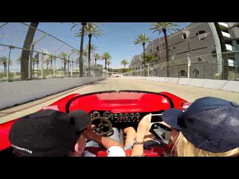2015 Long Beach Grand Prix - Mothers Exotic Car Show hot parade lap - shorter version
