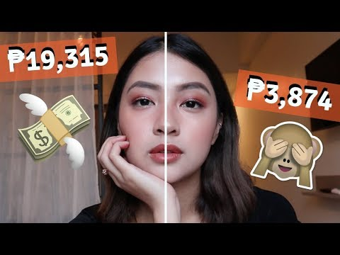 HIGH END VS. DRUG STORE MAKE UP (PHILIPPINES)  Rei Germar